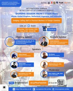 International Seminar in the Context of Community Services